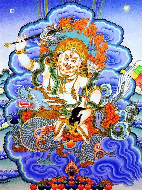 白財神White Jambhala