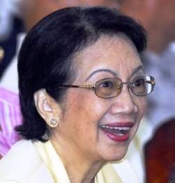 菲前總統艾奎諾夫人