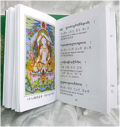 藏密聖二十一度母廣大殊勝功德
