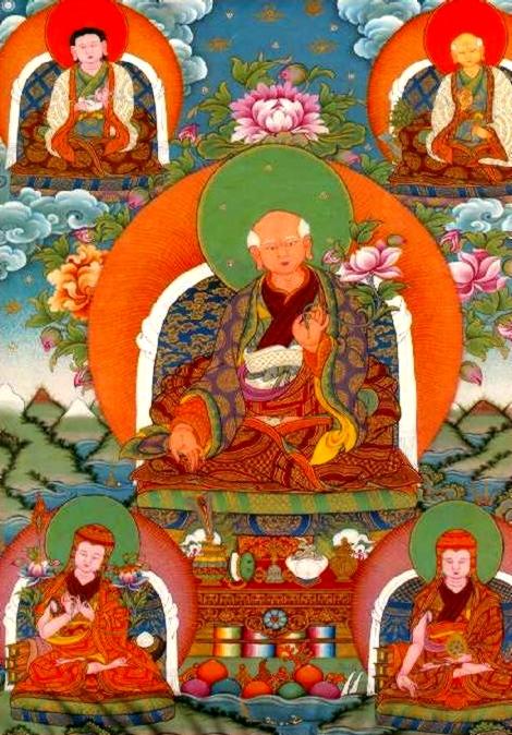 尊貴第五世仙多祖古仁波切-----唐迦寺寶座持有者