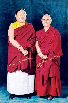 薩迦金剛乘佛學院2008年11月開光典禮